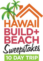 Hawaii Build Beach Logo