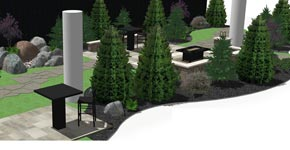 Rendering of the Buffalo Home Show Lobby